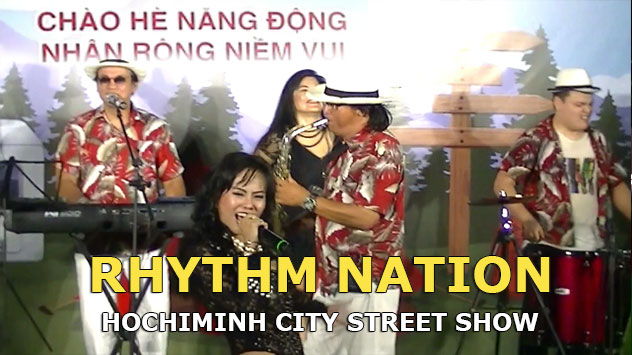 HCMC Street Show | Rhythm Nation at Nguyen Hue Walking Street